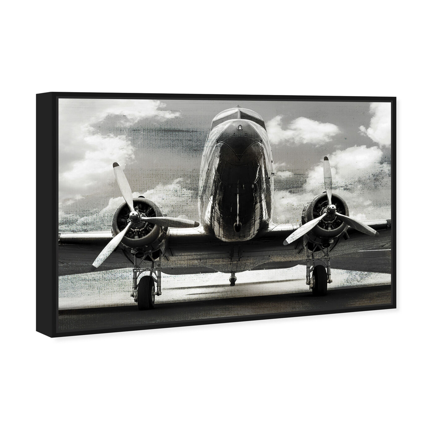 Angled view of SAI - AEROPLANO featuring transportation and airplanes art.
