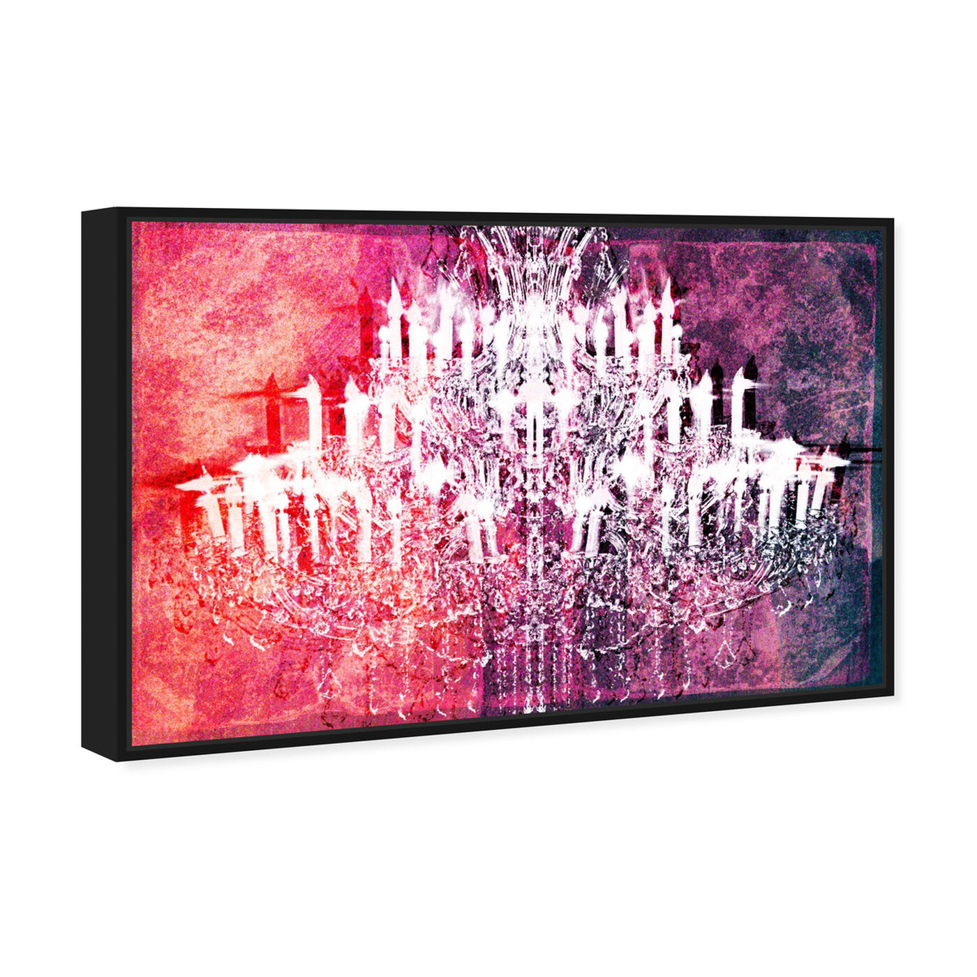 Angled view of Ethereal Vision Reversed featuring fashion and glam and chandeliers art.