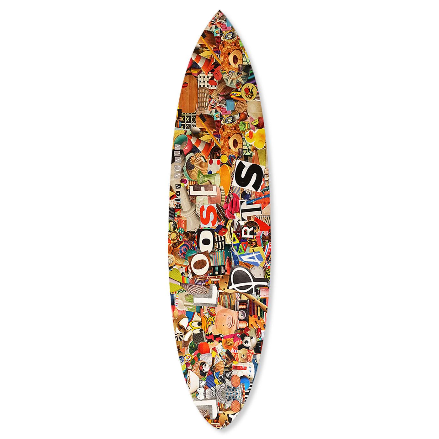 Katy Hirschfeld - Loose Parts Surfboard Flat