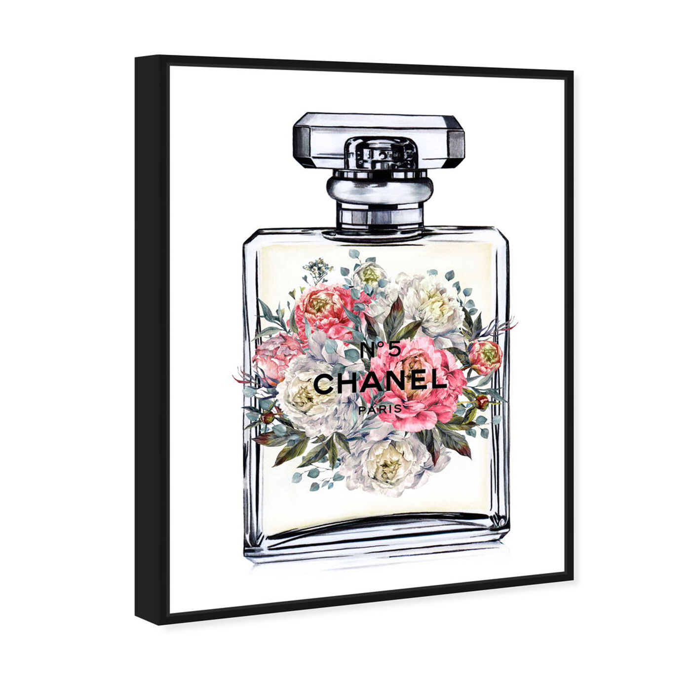 Angled view of Doll Memories - Fashion's Fragrance featuring fashion and glam and perfumes art.