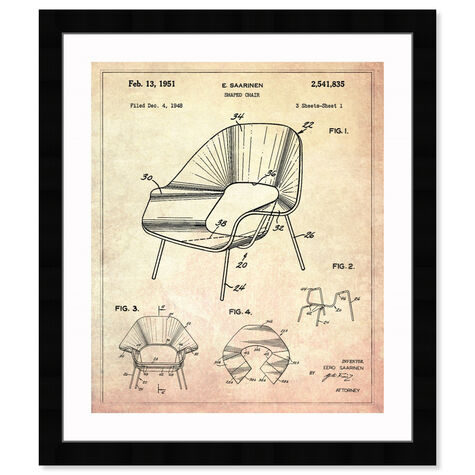 Shaped chair 1948