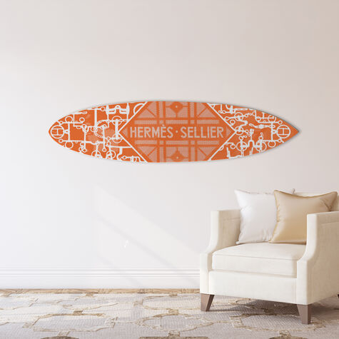 Le Luxe Surfboard Orange