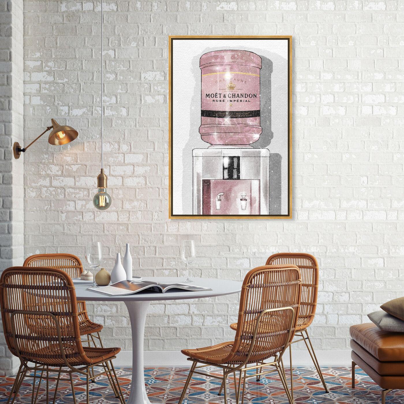 Rose Champagne Watercooler