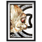 Front view of Lion Effect Symbol I featuring fashion and glam and lifestyle art. image number null
