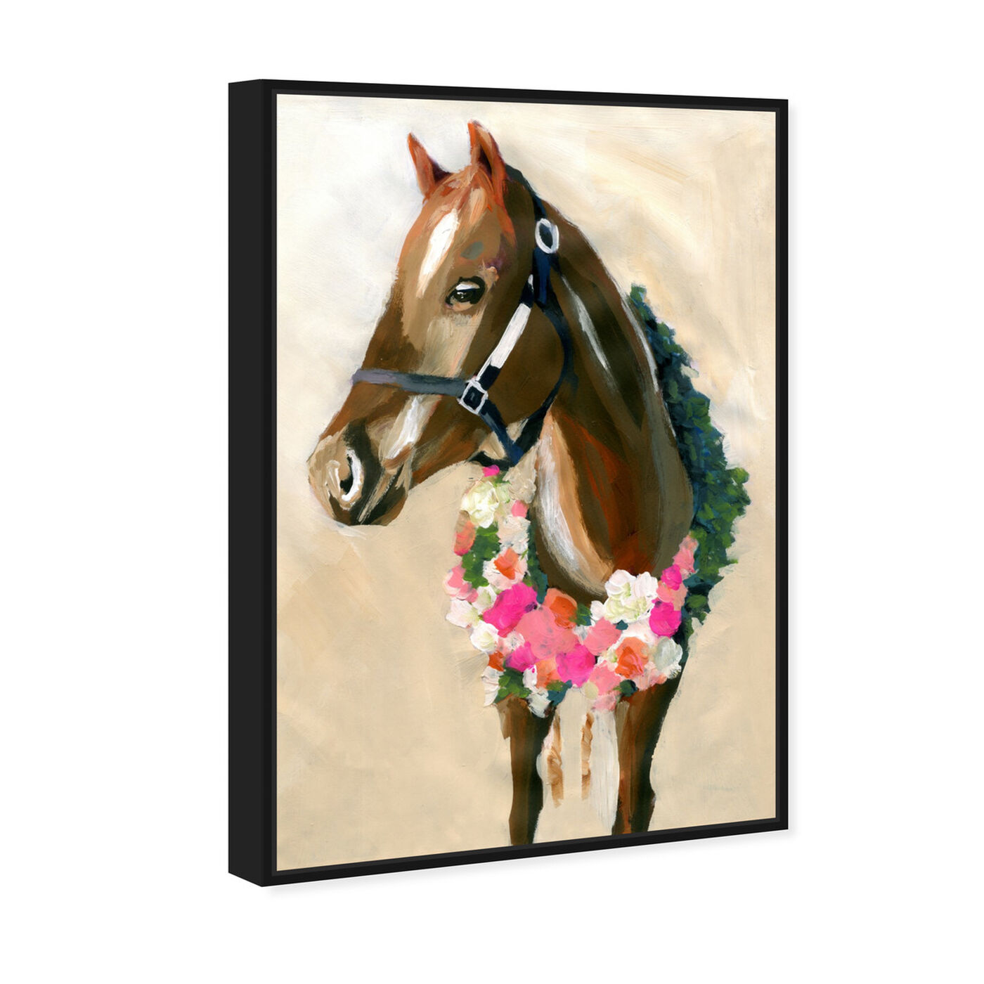 Angled view of Champion By Carson Kressley featuring animals and farm animals art.