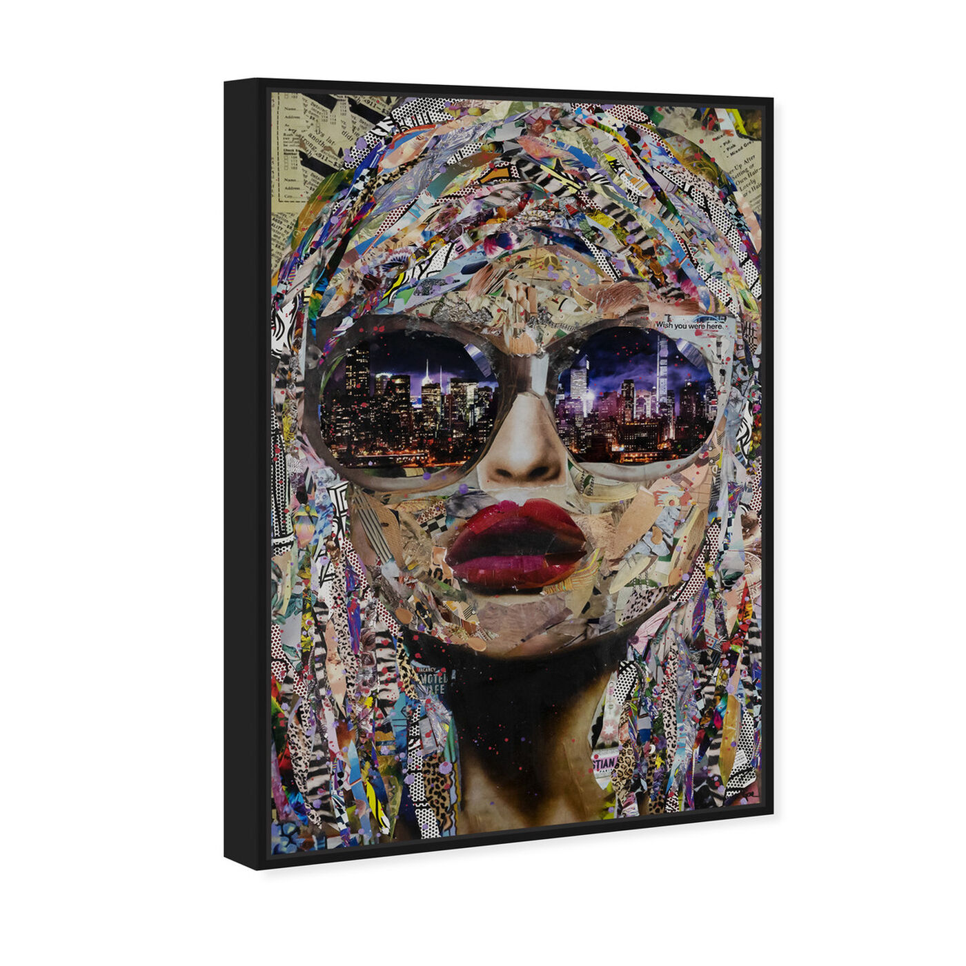 Angled view of Katy Hirschfeld - Timing is Now featuring fashion and glam and portraits art.
