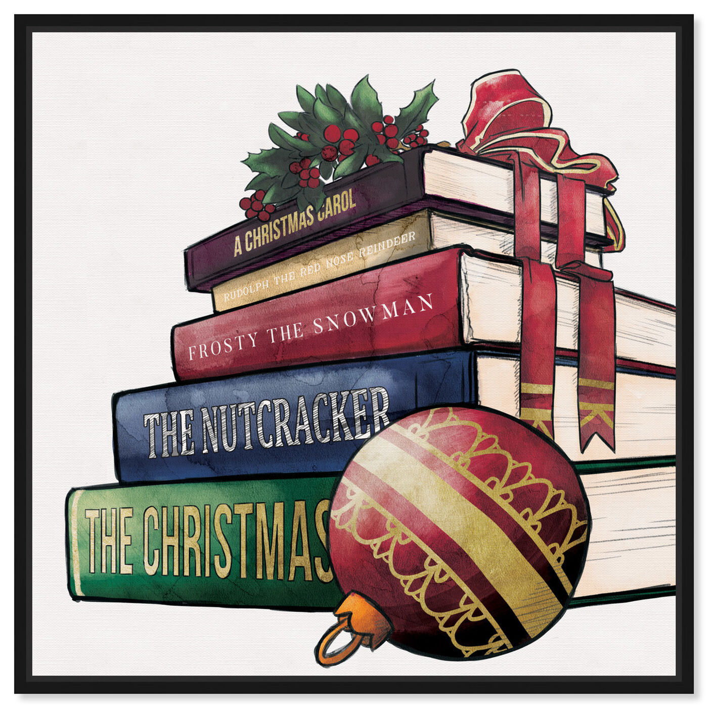 Front view of Holiday tales featuring holiday and seasonal and holidays art.