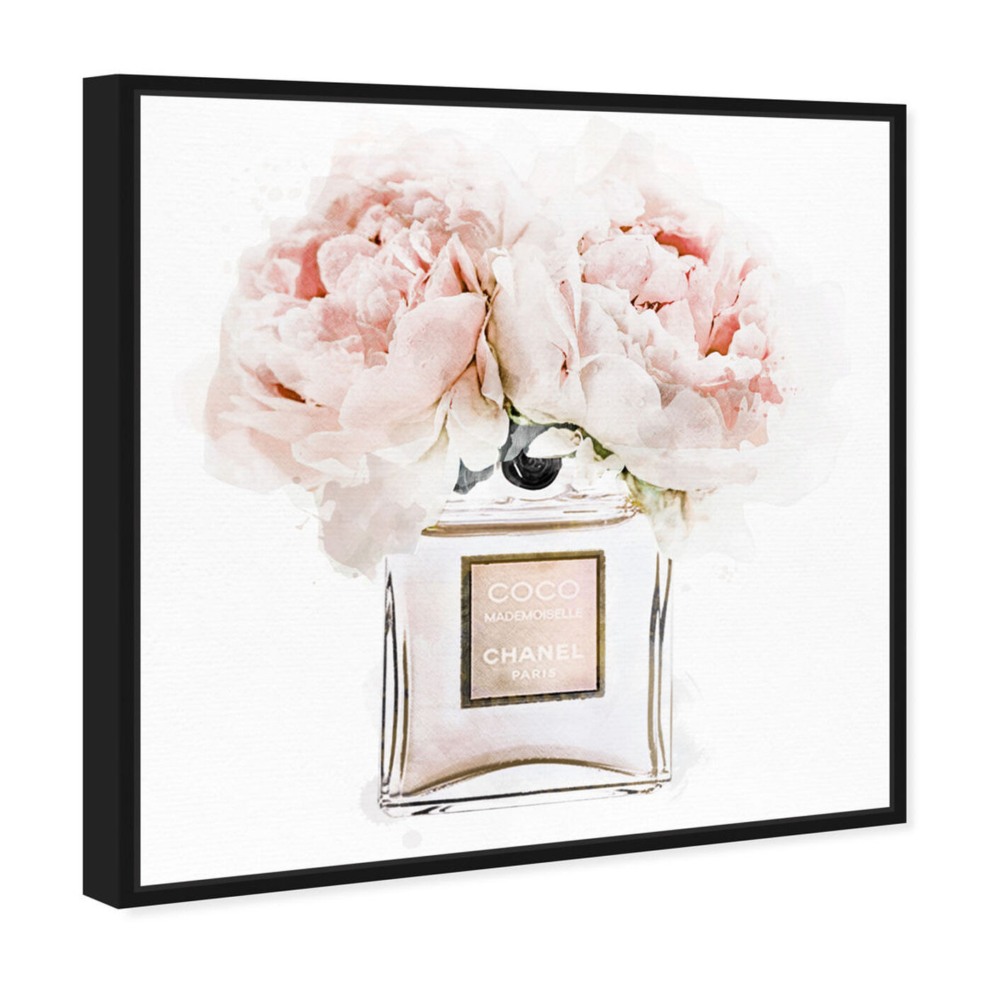 Angled view of Dawn Morning Bouquet Peach featuring fashion and glam and perfumes art.