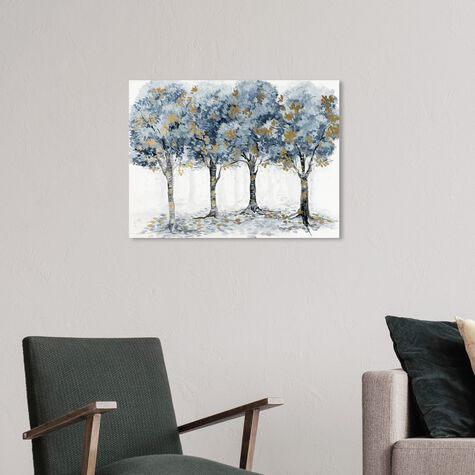 Pale Blue Forest