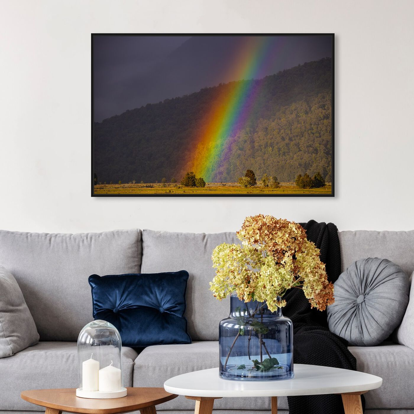 Hanging view of Curro Cardenal - Nature is Magic featuring nature and landscape and nature art.