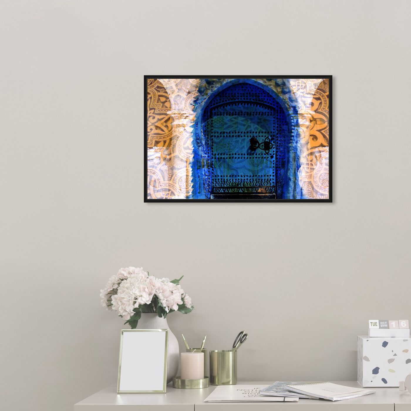 Hanging view of Porte du Morocco featuring world and countries and african countries art.