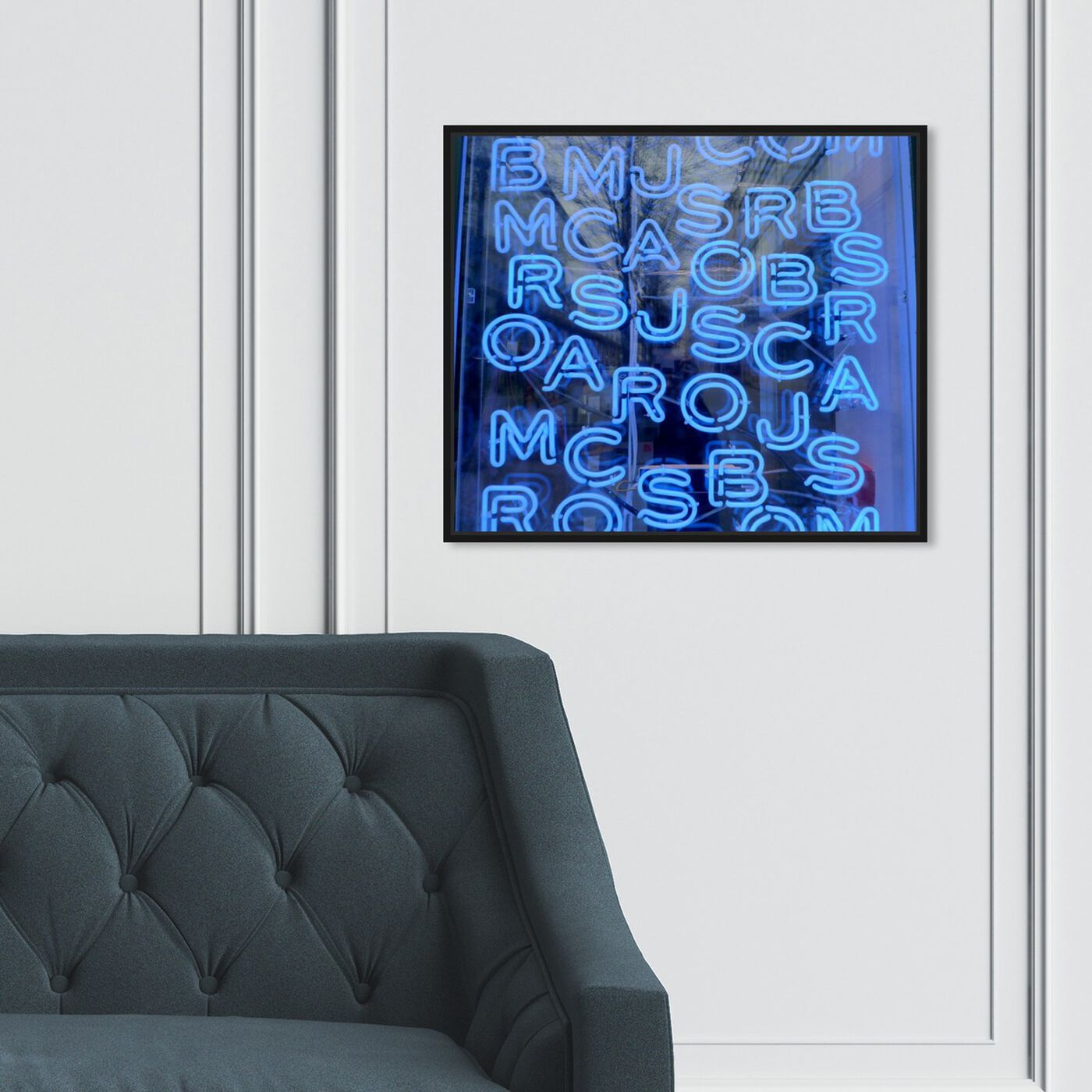 Hanging view of Fashion Crossword featuring fashion and glam and lifestyle art.