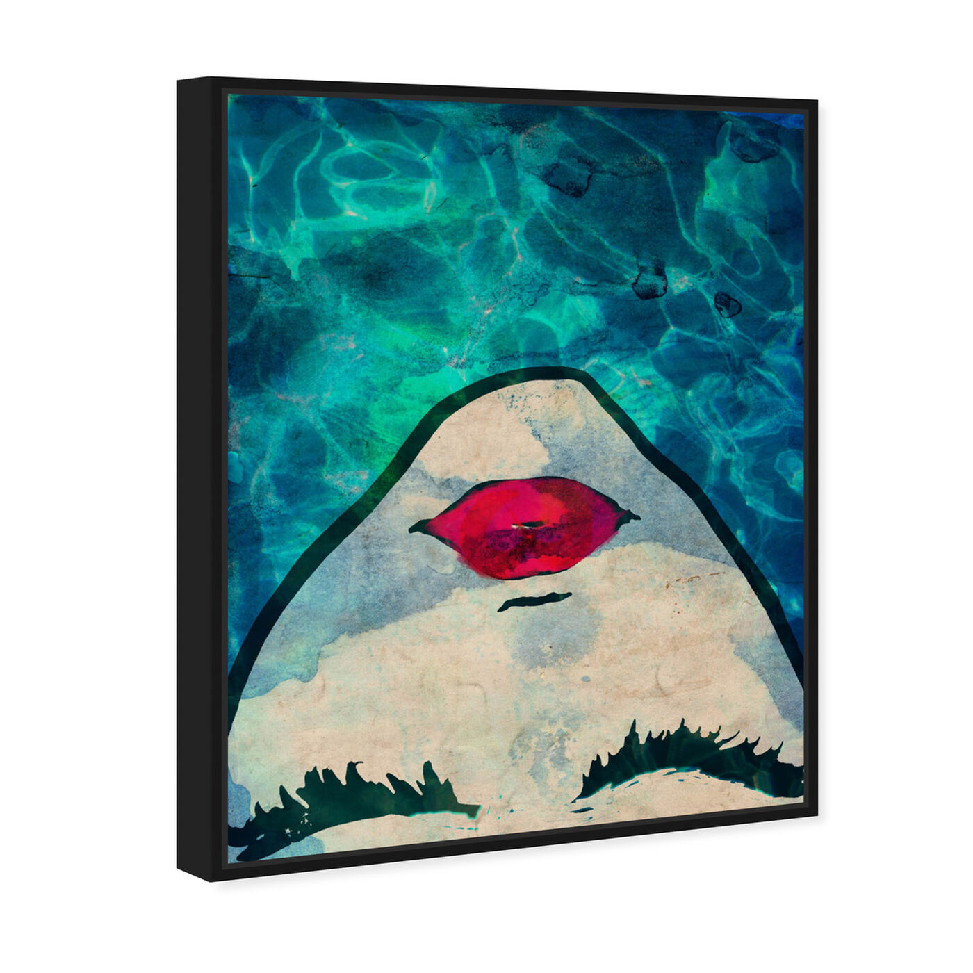 Angled view of Water coveted featuring fashion and glam and portraits art.