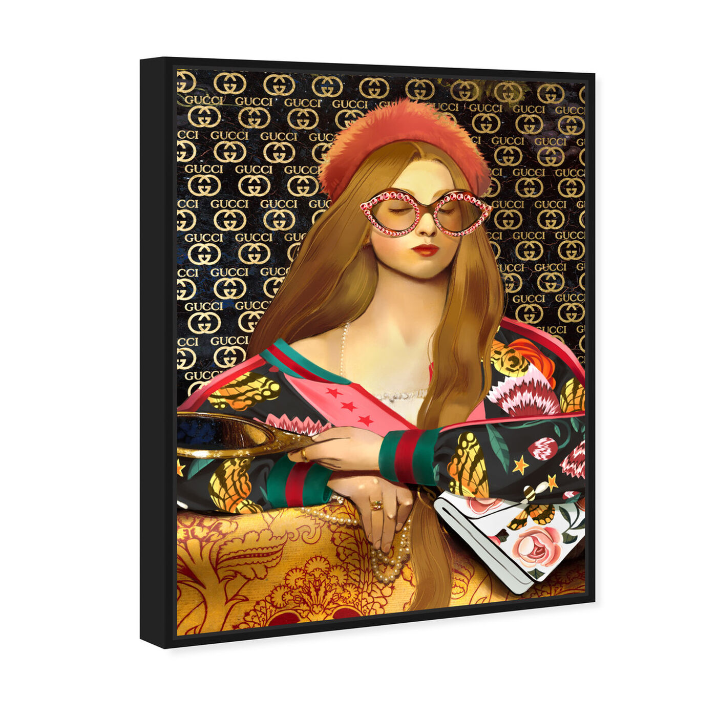 Angled view of Vanity Raphaelite featuring fashion and glam and accessories art.