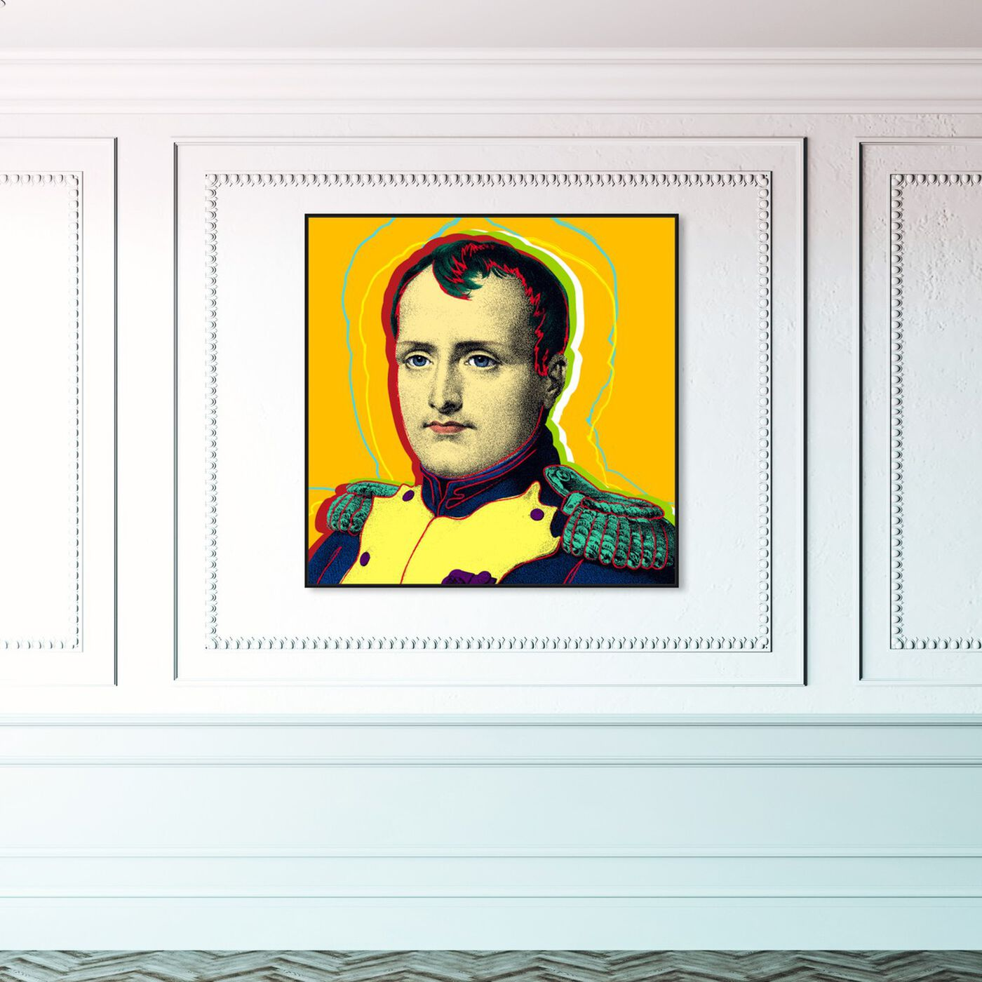 Hanging view of Napoleon featuring people and portraits and celebrities art.
