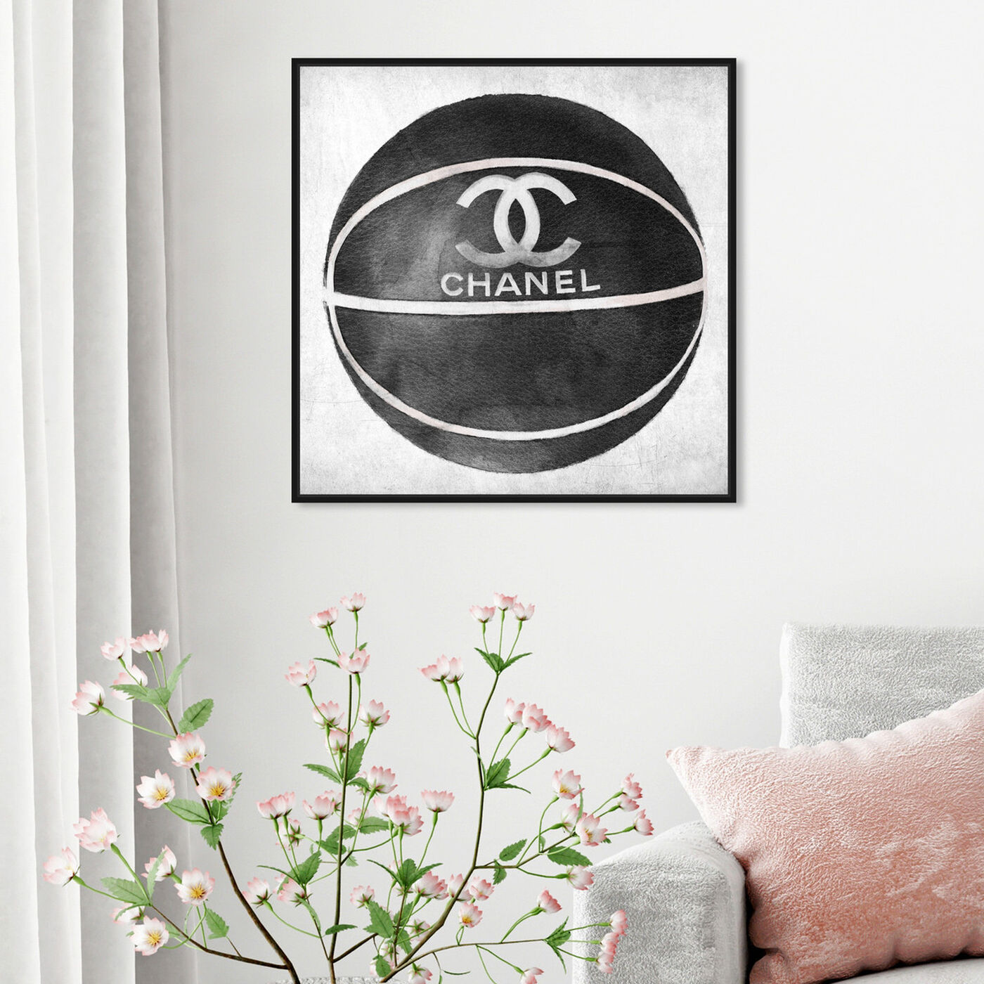 Hanging view of Fashion Basketball featuring fashion and glam and lifestyle art.