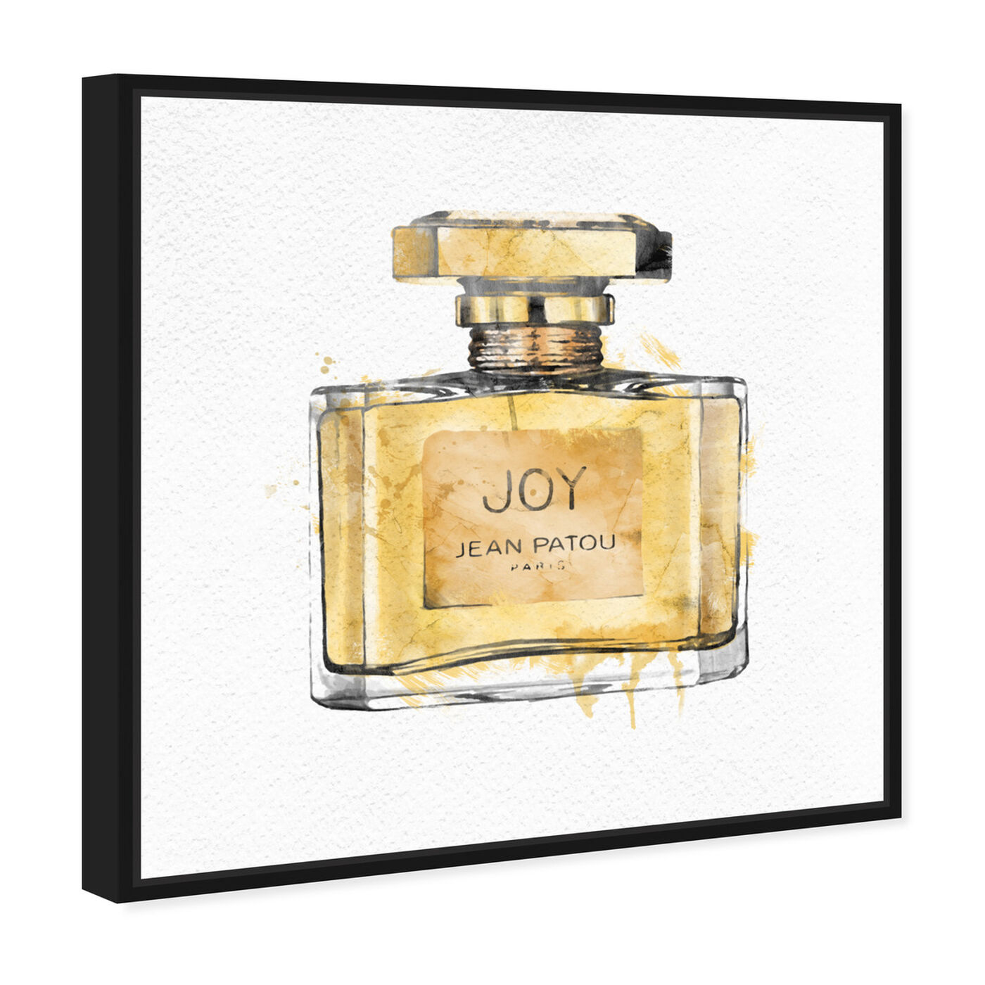Angled view of Joy featuring fashion and glam and perfumes art.