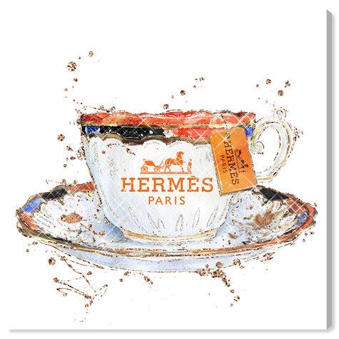 Orange Caramel Tea Cup