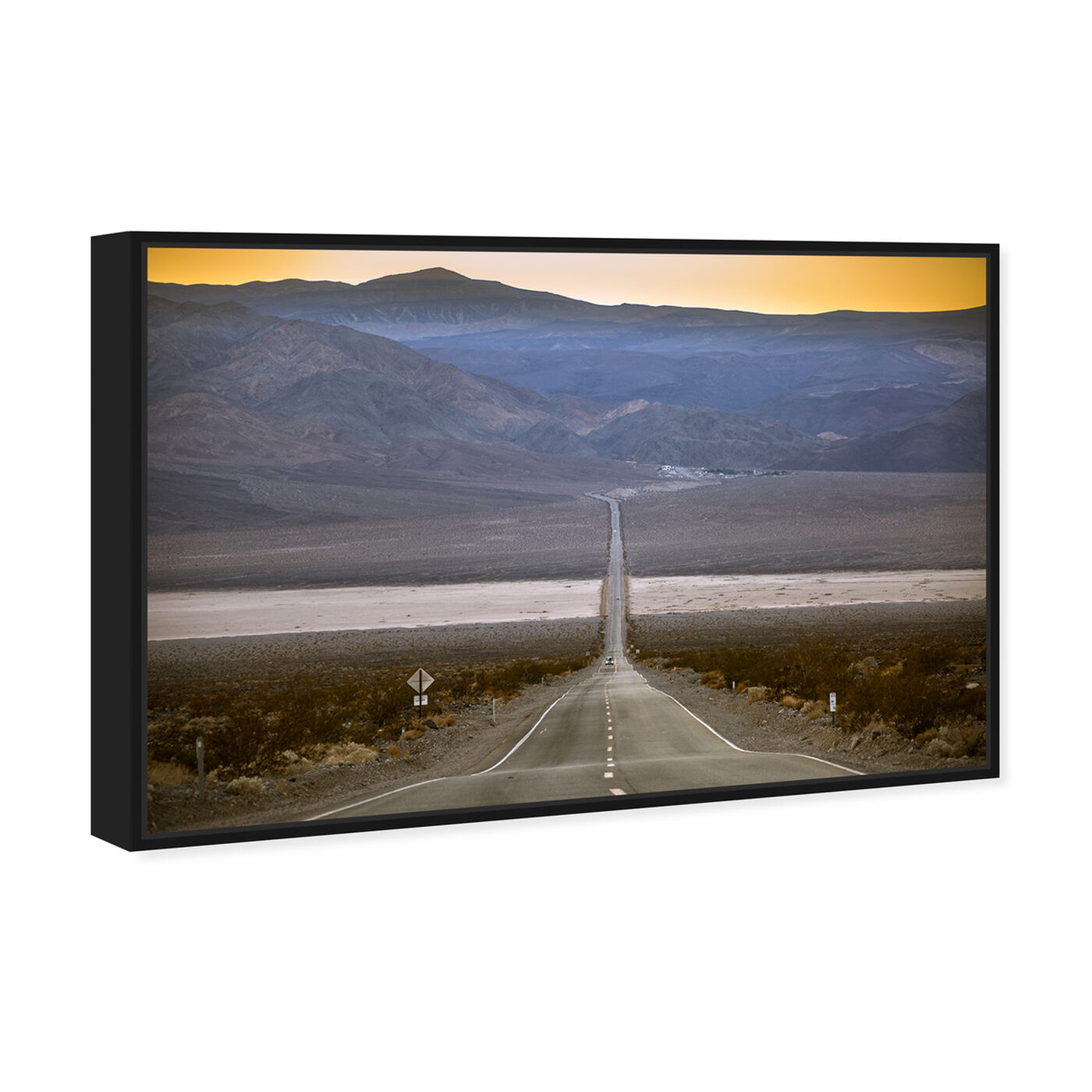 Angled view of Curro Cardenal - American Road IV featuring nature and landscape and mountains art.