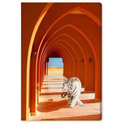White Tiger Mansion Entrance