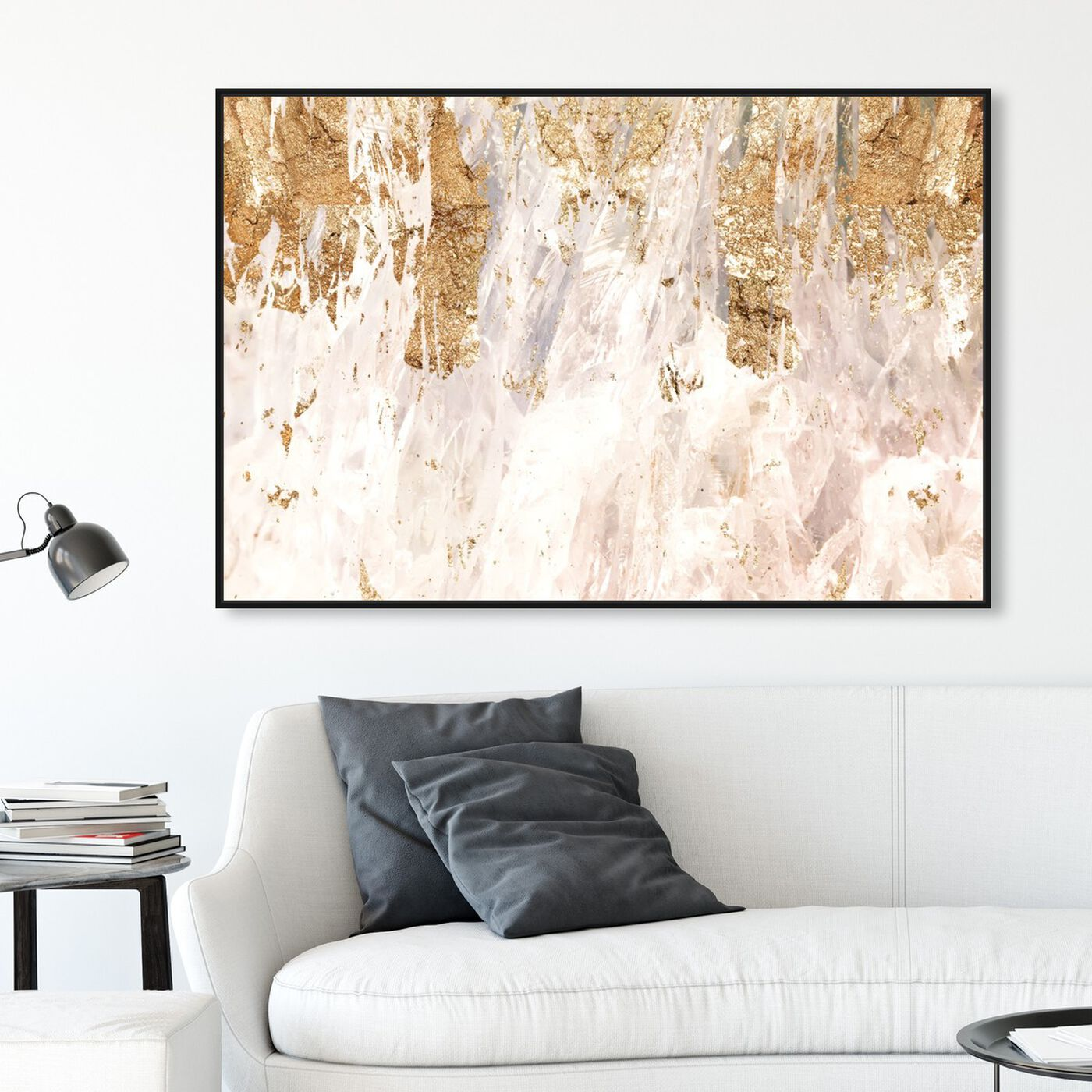 Hanging view of Star Light featuring abstract and textures art.
