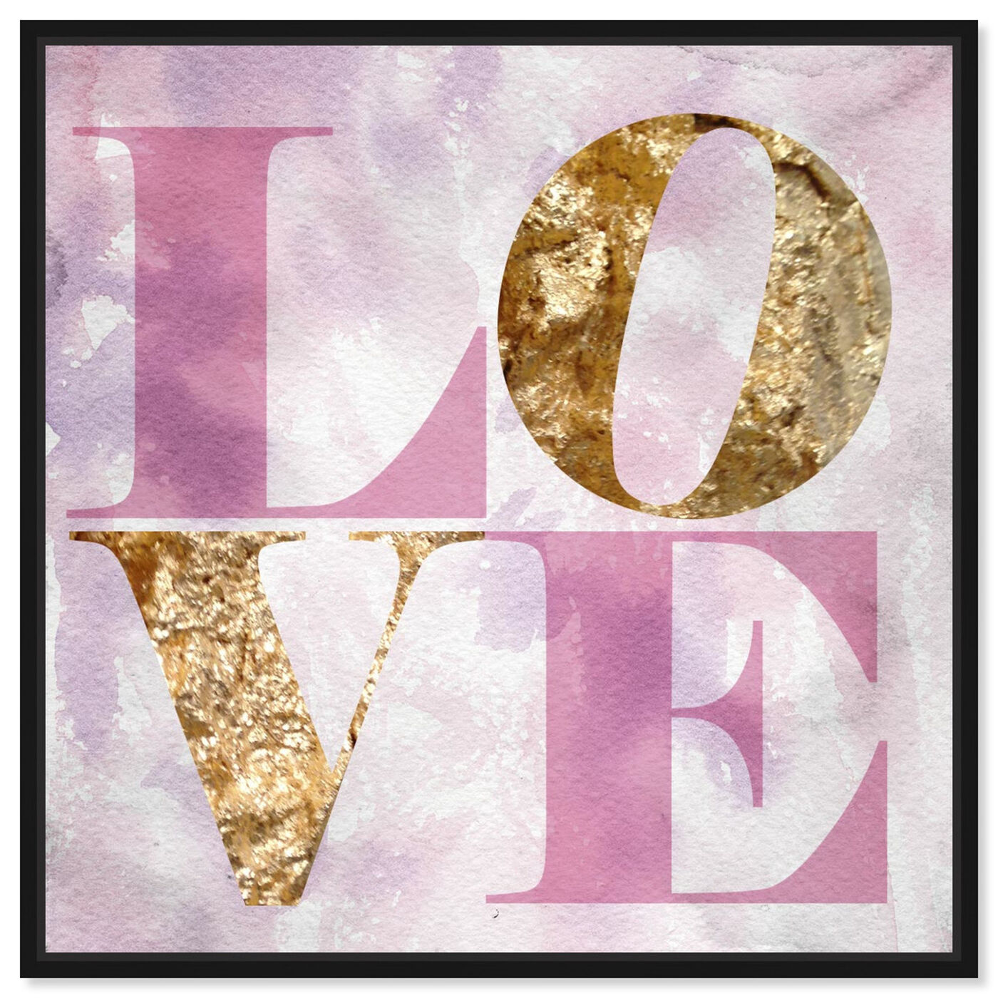 Front view of Love Pastel featuring typography and quotes and fashion quotes and sayings art.