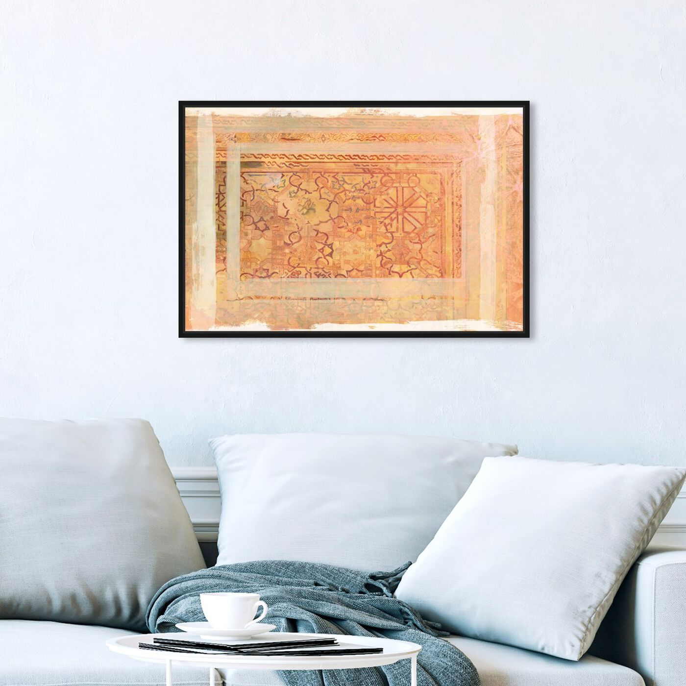 Hanging view of Grazia featuring abstract and patterns art.