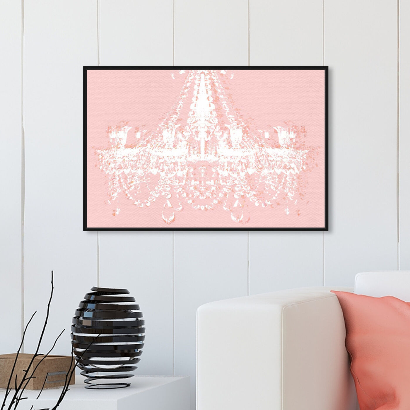 Hanging view of Dramatic Entrance Ballet Slippers featuring fashion and glam and chandeliers art.