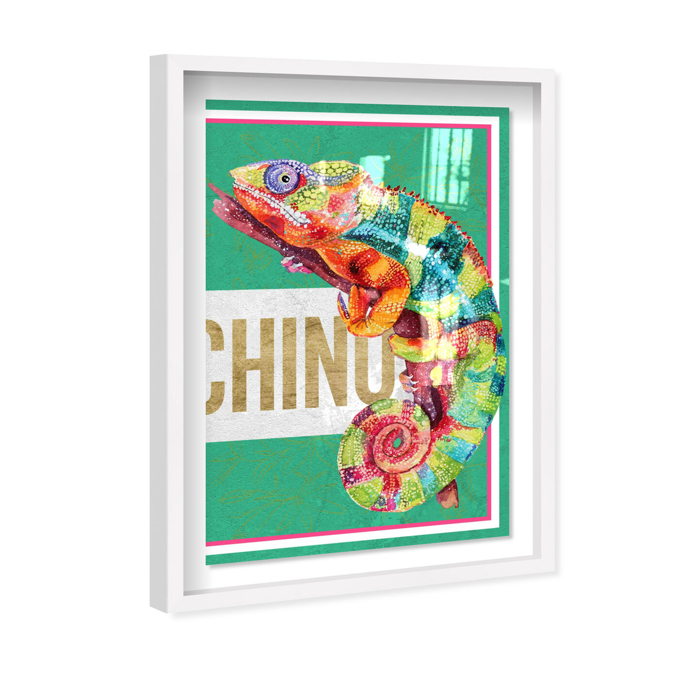 Angled view of Colorful Right featuring fashion and glam and fashion lifestyle art.