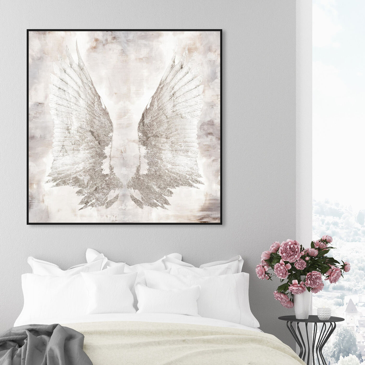 Hanging view of My Wings Chie featuring fashion and glam and wings art.