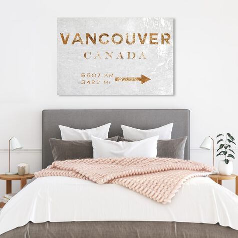 Vancouver Road Sign