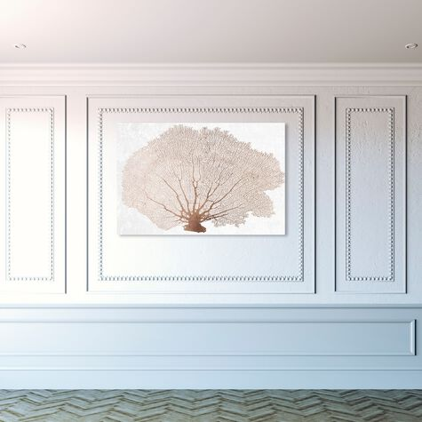 Copper Coral Fan