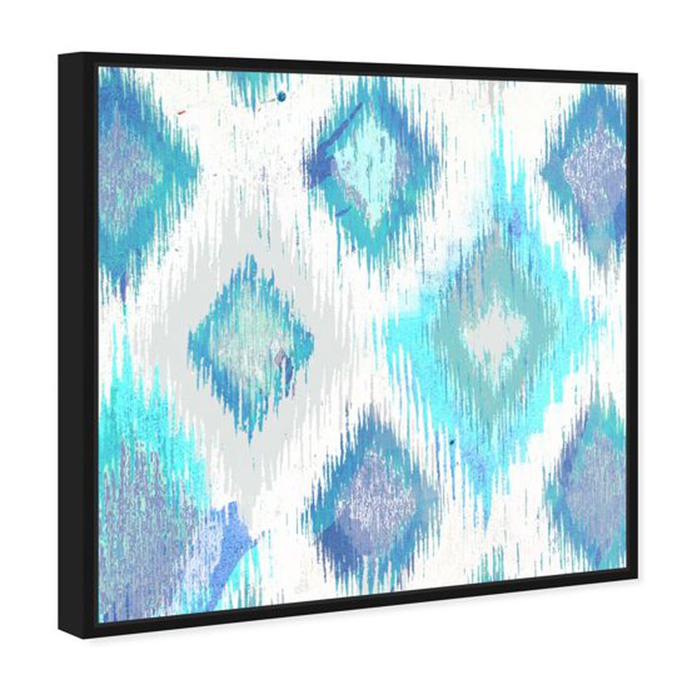 Angled view of Del Mar featuring abstract and geometric art.