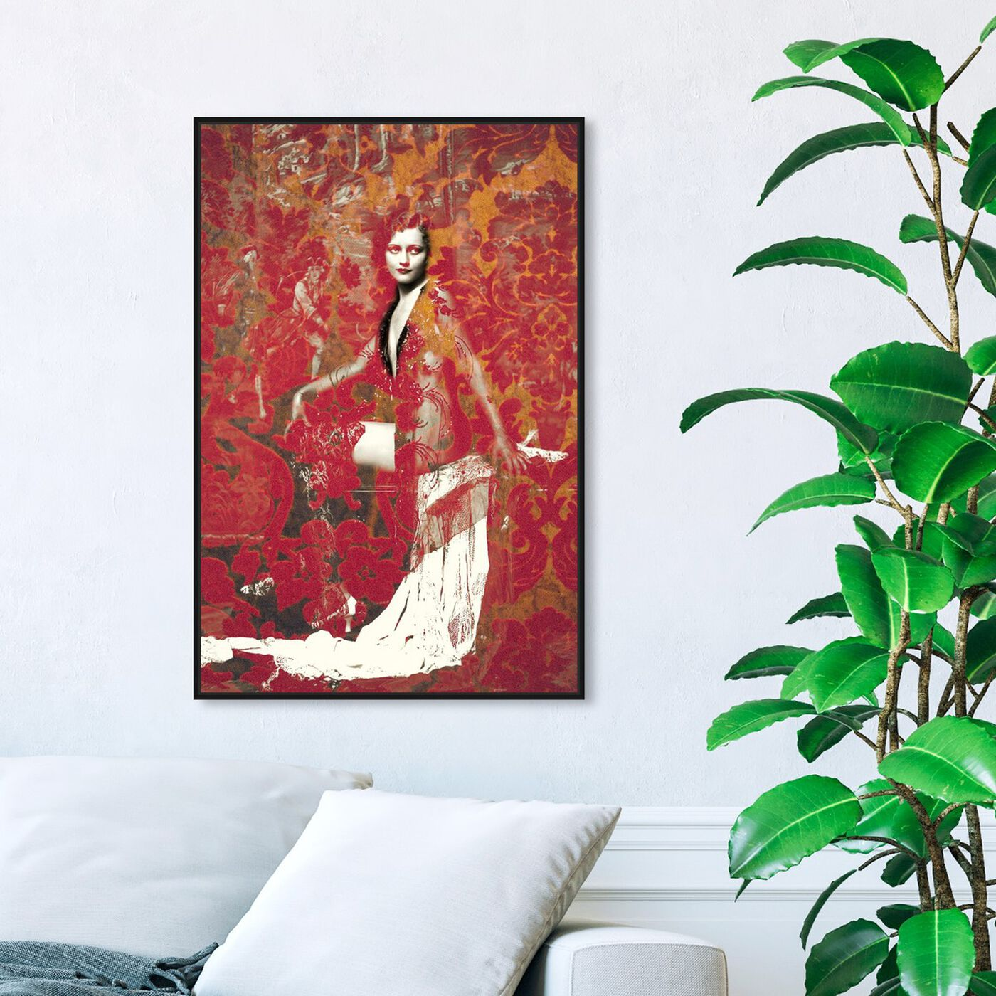 Hanging view of Ann Lee Zeigfeld featuring classic and figurative and classic art.