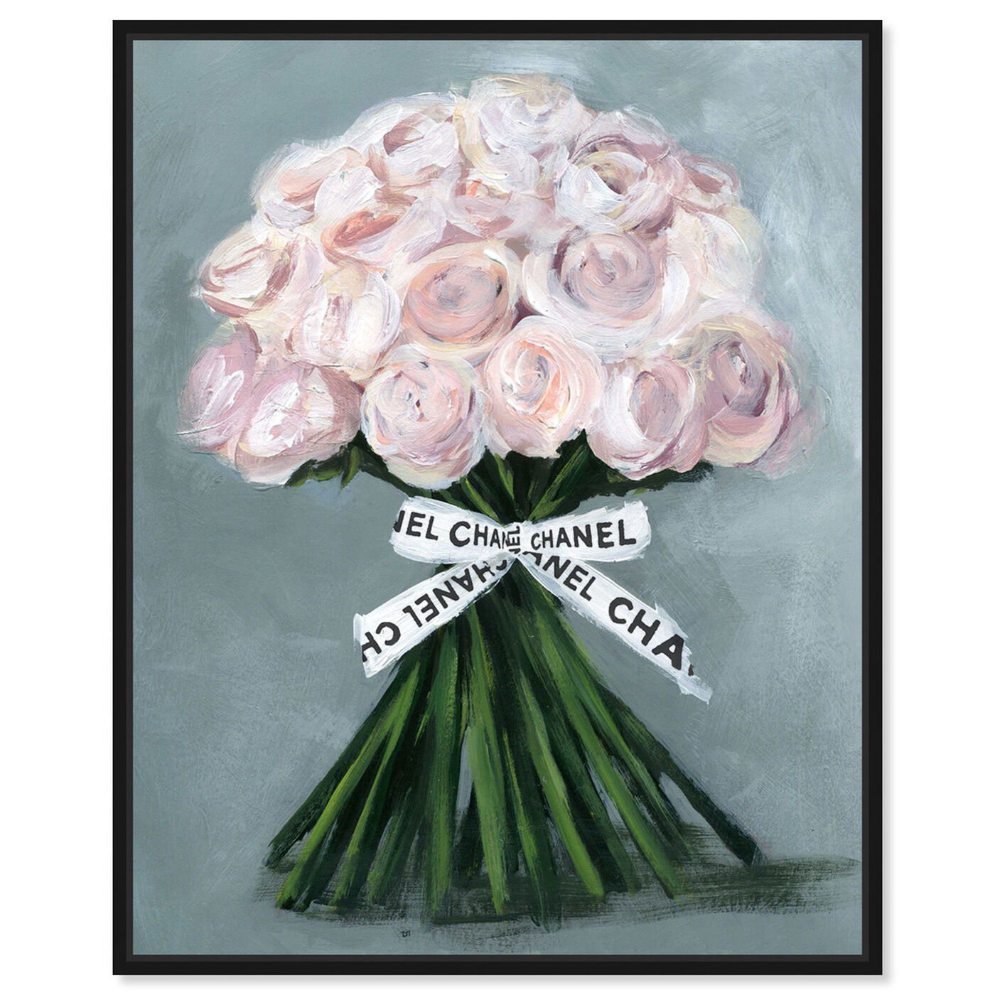 Front view of The Perfect Bouquet featuring floral and botanical and florals art.