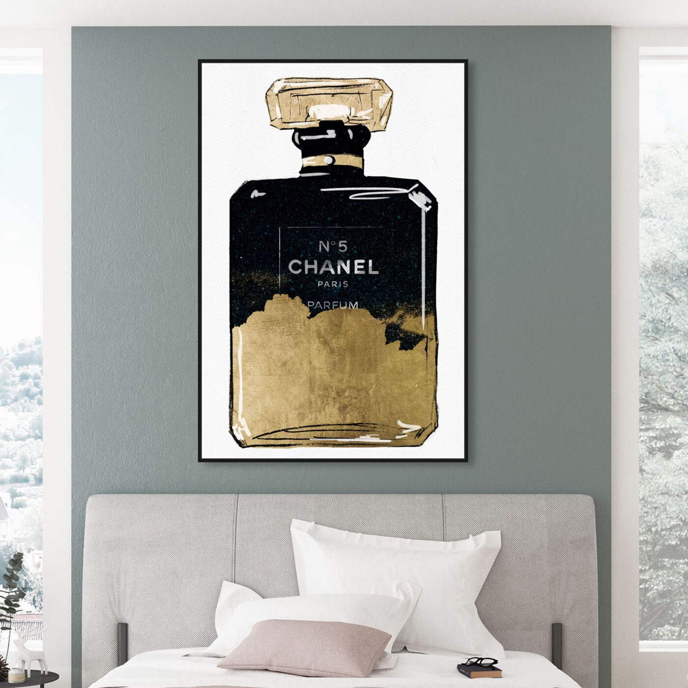Hanging view of Moonshine Parfum featuring fashion and glam and perfumes art.