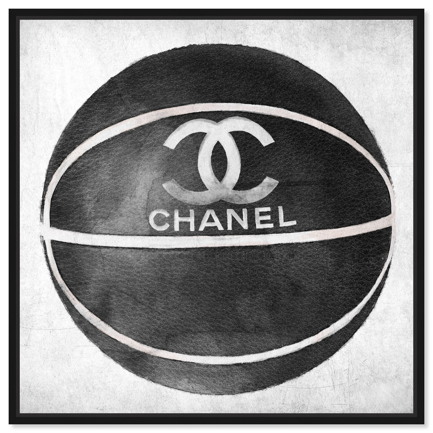 Front view of Fashion Basketball featuring fashion and glam and lifestyle art.