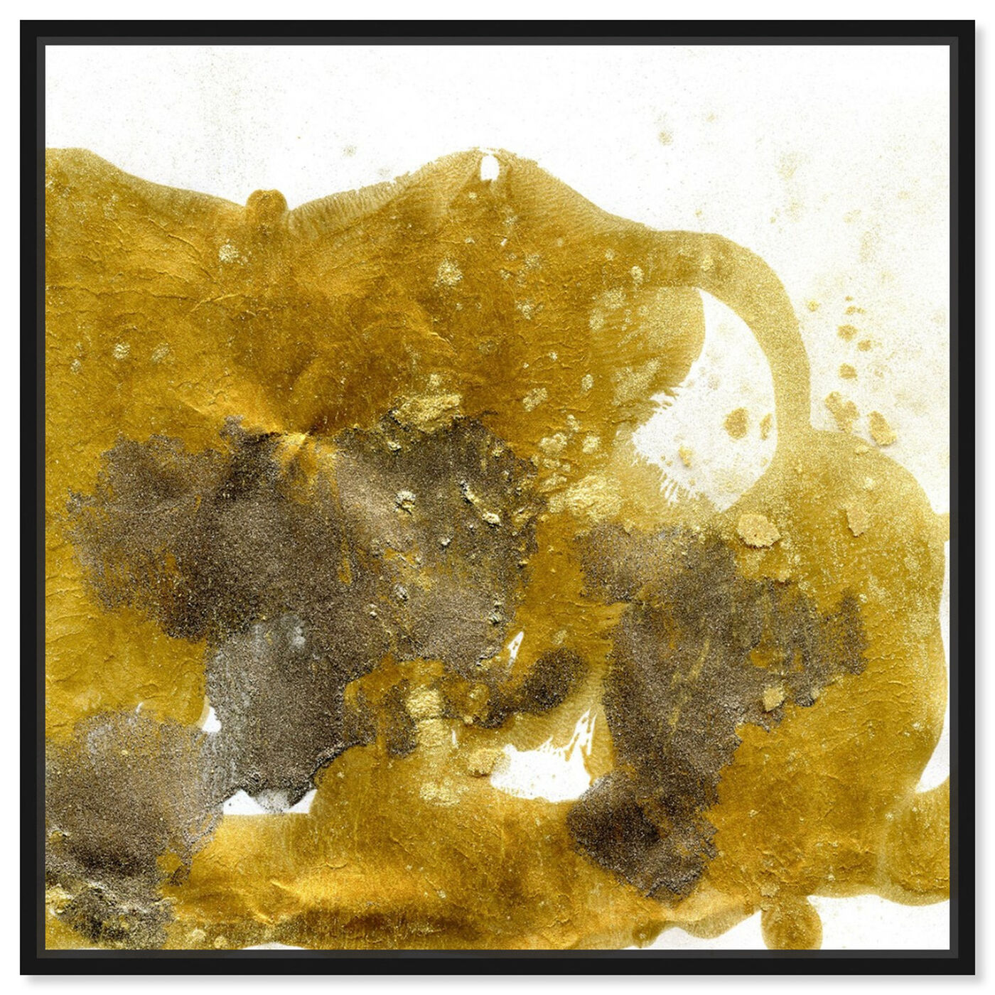 Front view of Gold Dust - Signature Collection featuring abstract and textures art.