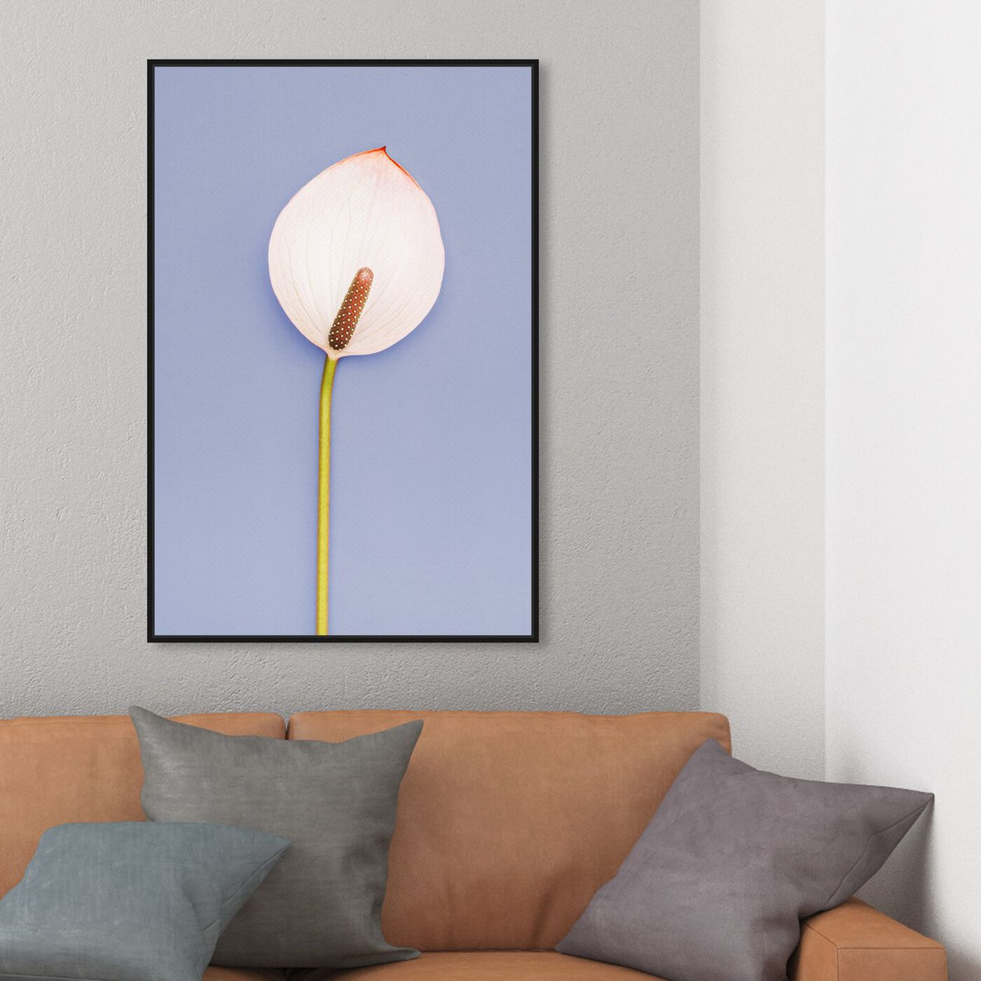 Hanging view of Cala featuring floral and botanical and florals art.
