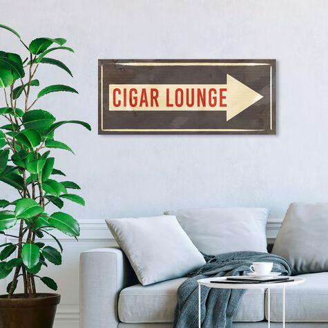Cigar Lounge Sign