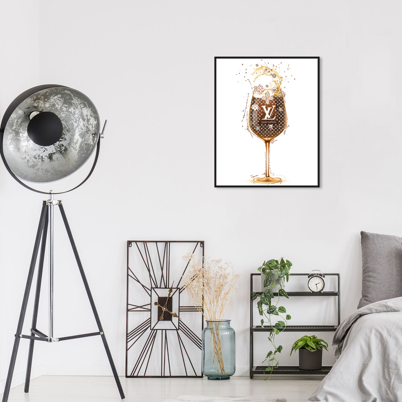 Hanging view of French Toast featuring drinks and spirits and wine art.