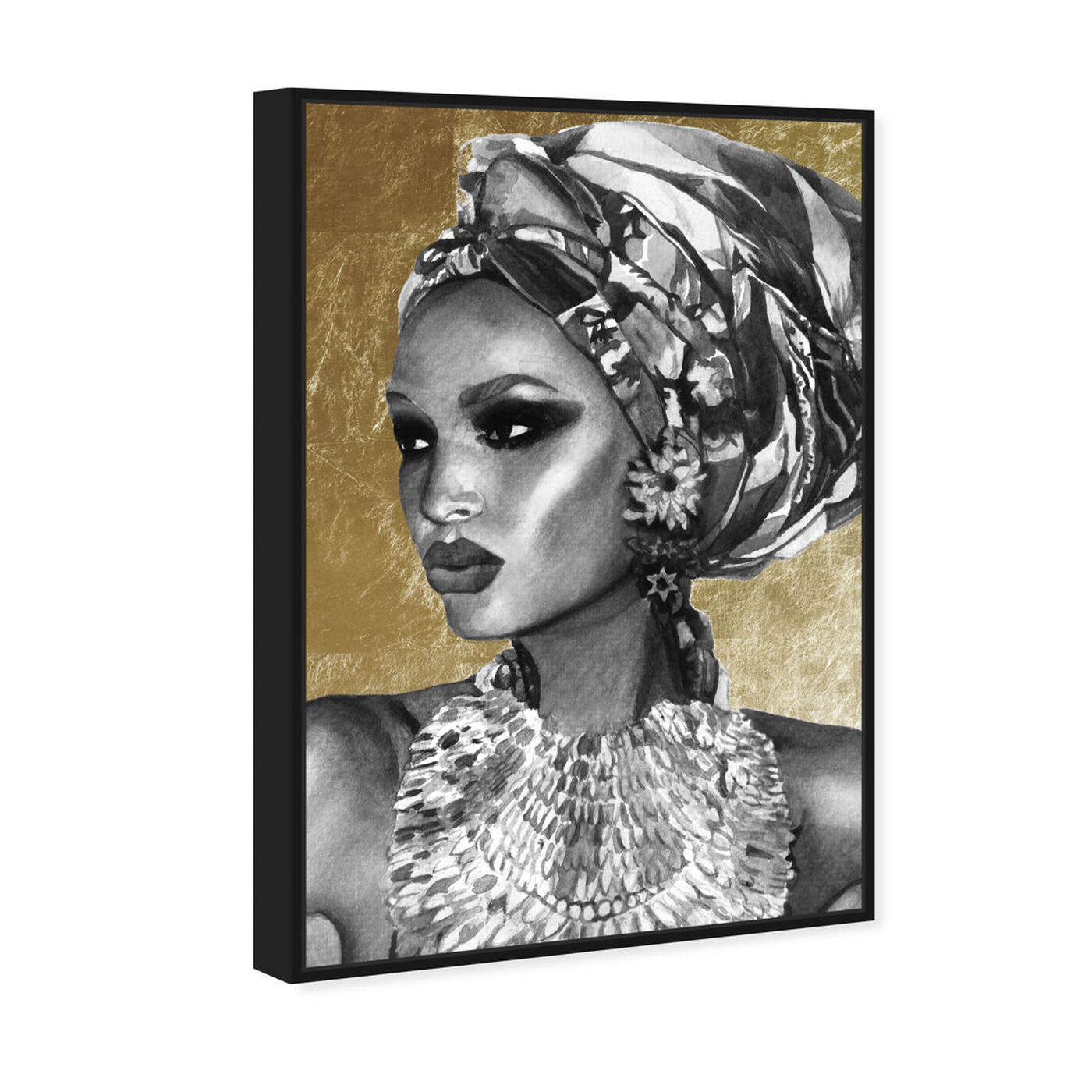 Angled view of Goddess of Nile featuring fashion and glam and portraits art.