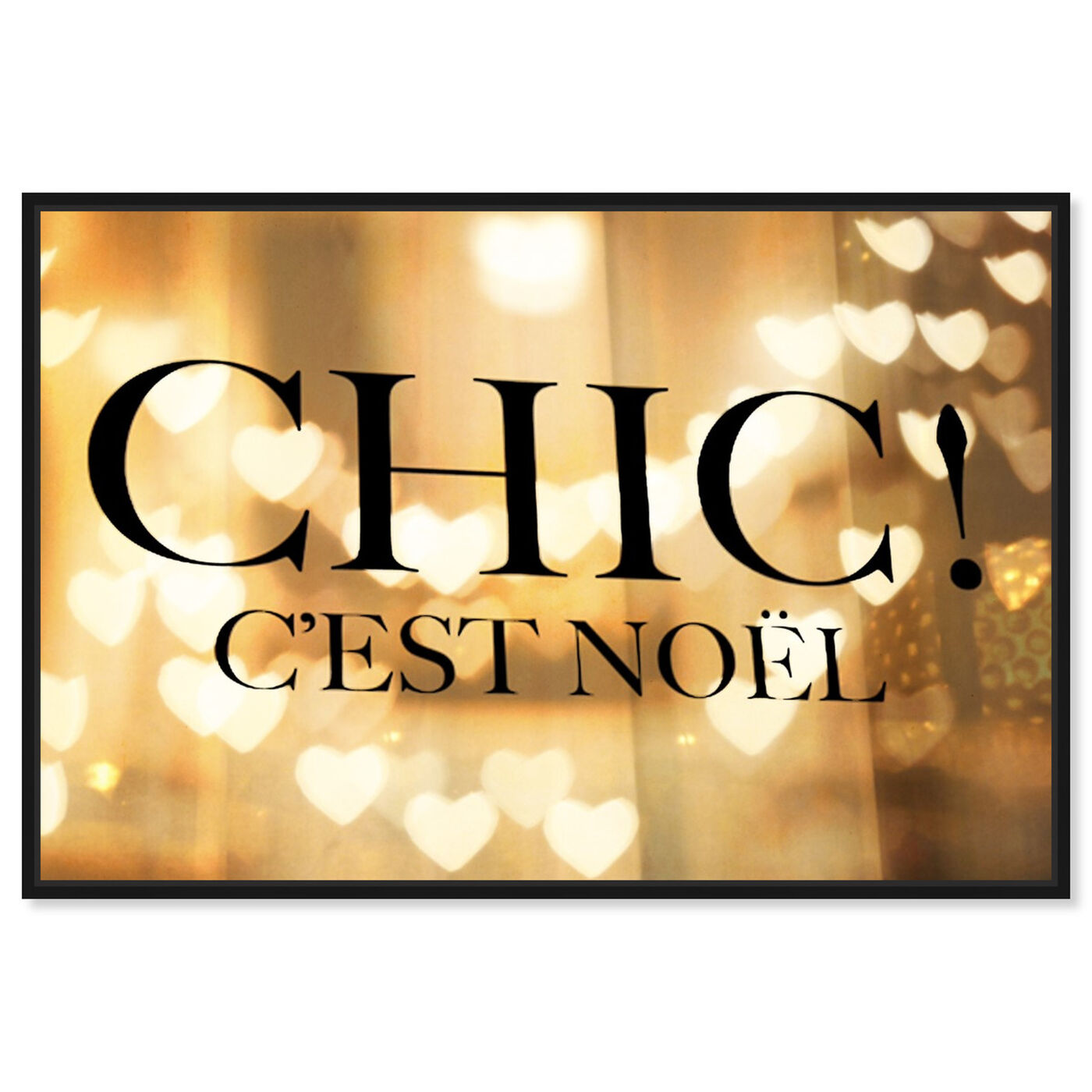 Front view of Chic Noel featuring holiday and seasonal and holidays art.