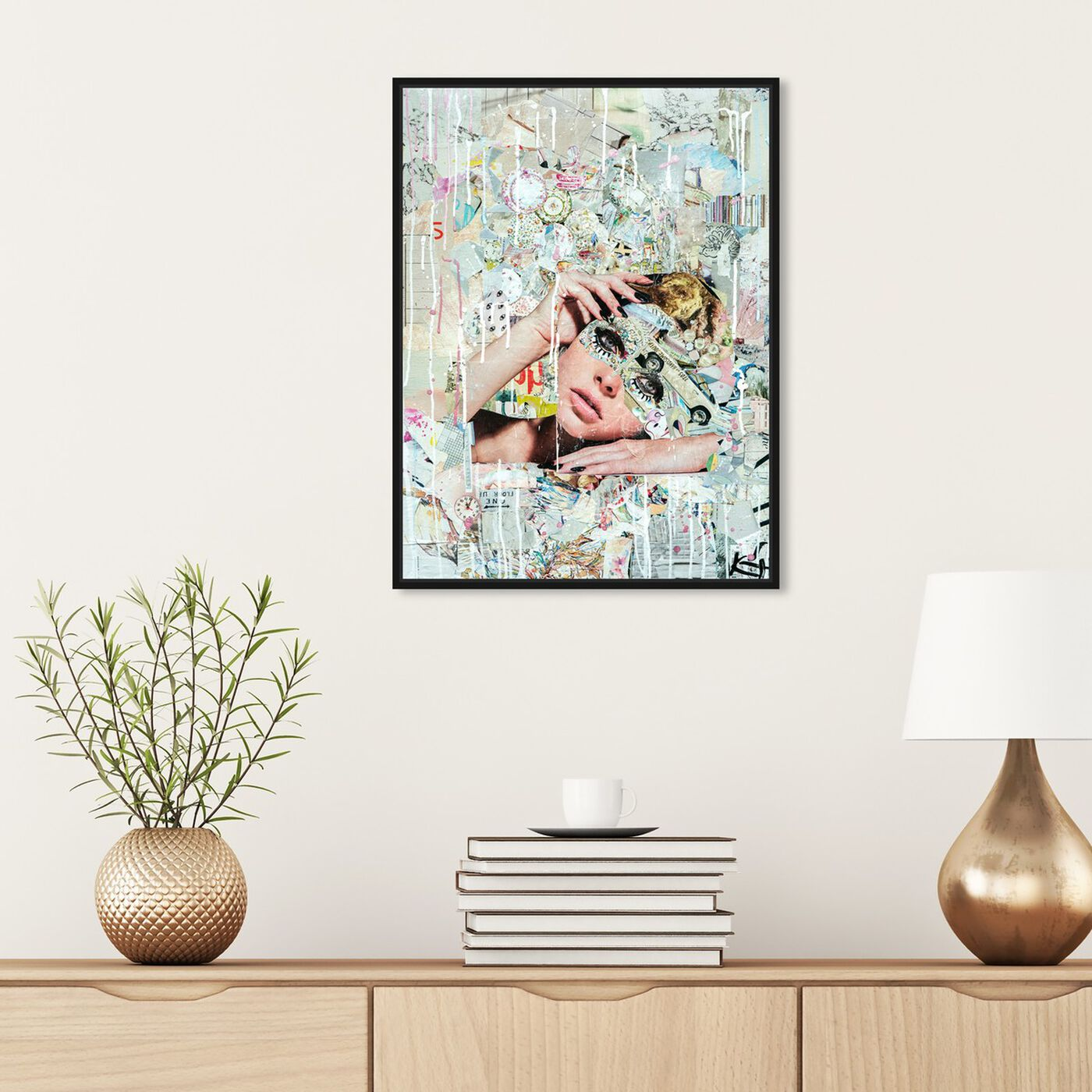 Hanging view of Katy Hirschfeld - Handsome Youths featuring fashion and glam and portraits art.
