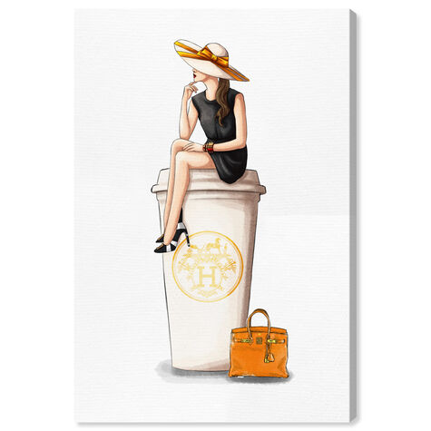 Cafe au Lait Orange 24x36