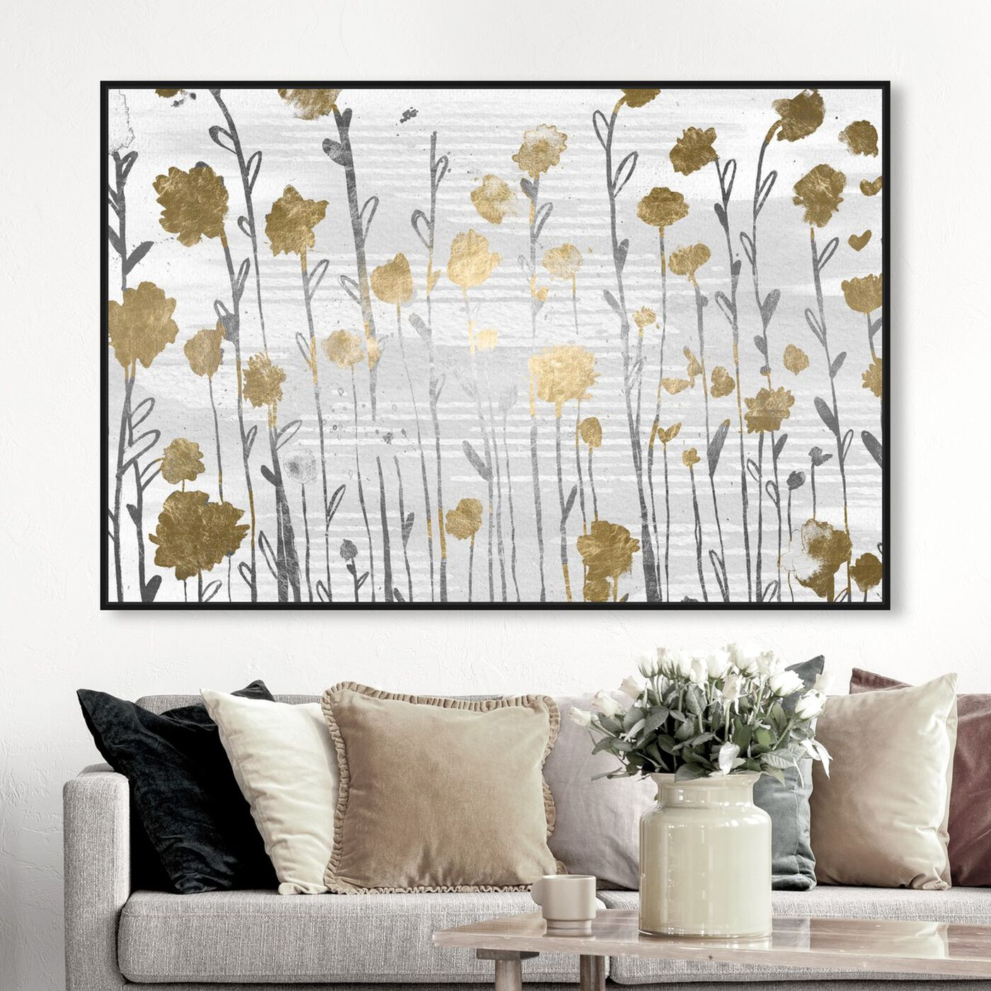 Hanging view of Floral Royal Garden featuring floral and botanical and gardens art.