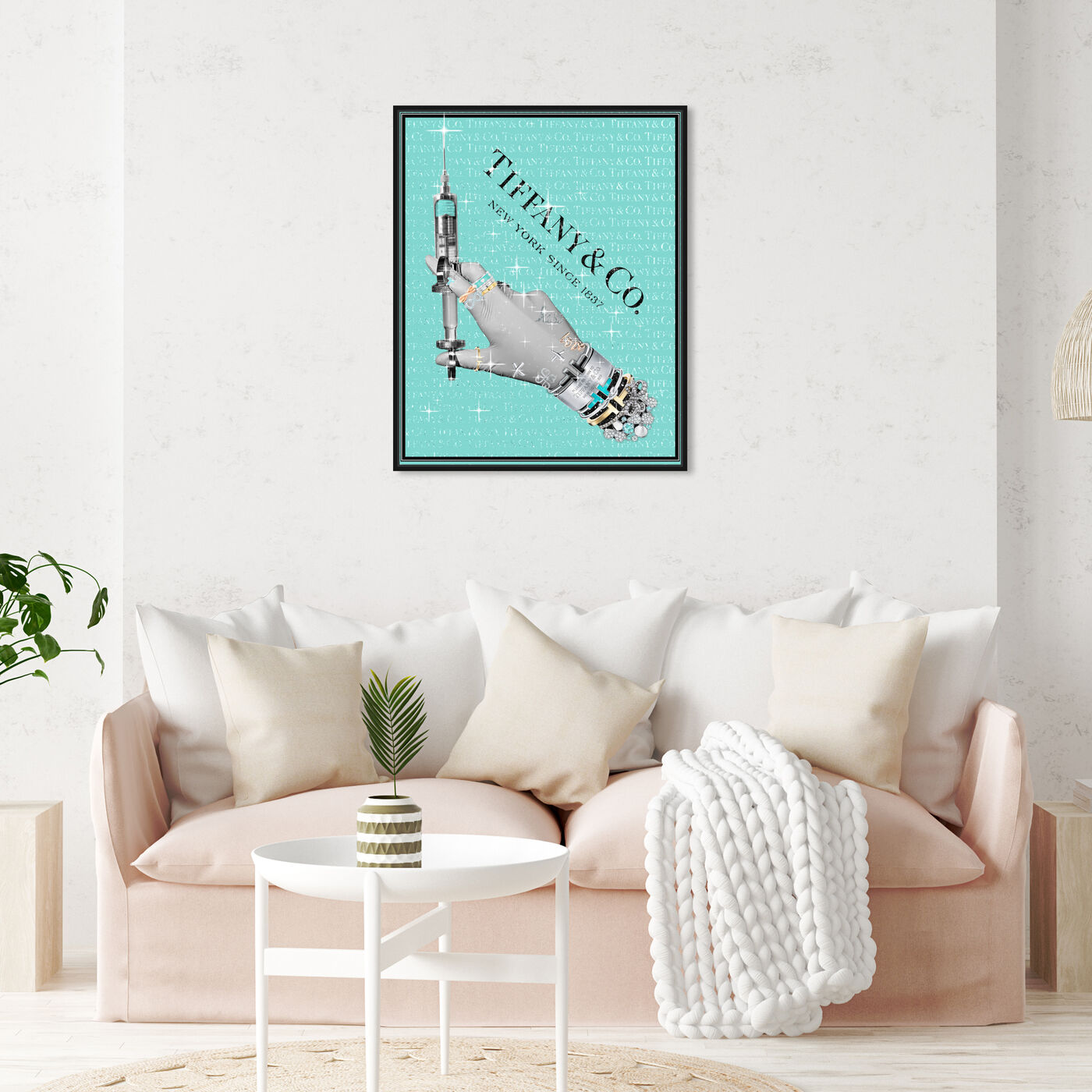 Hanging view of The Glam Nurse featuring fashion and glam and jewelry art.