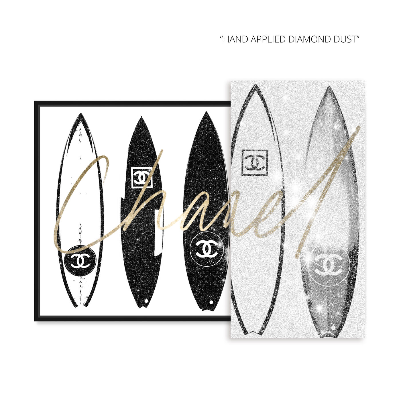 Surfing Paris White