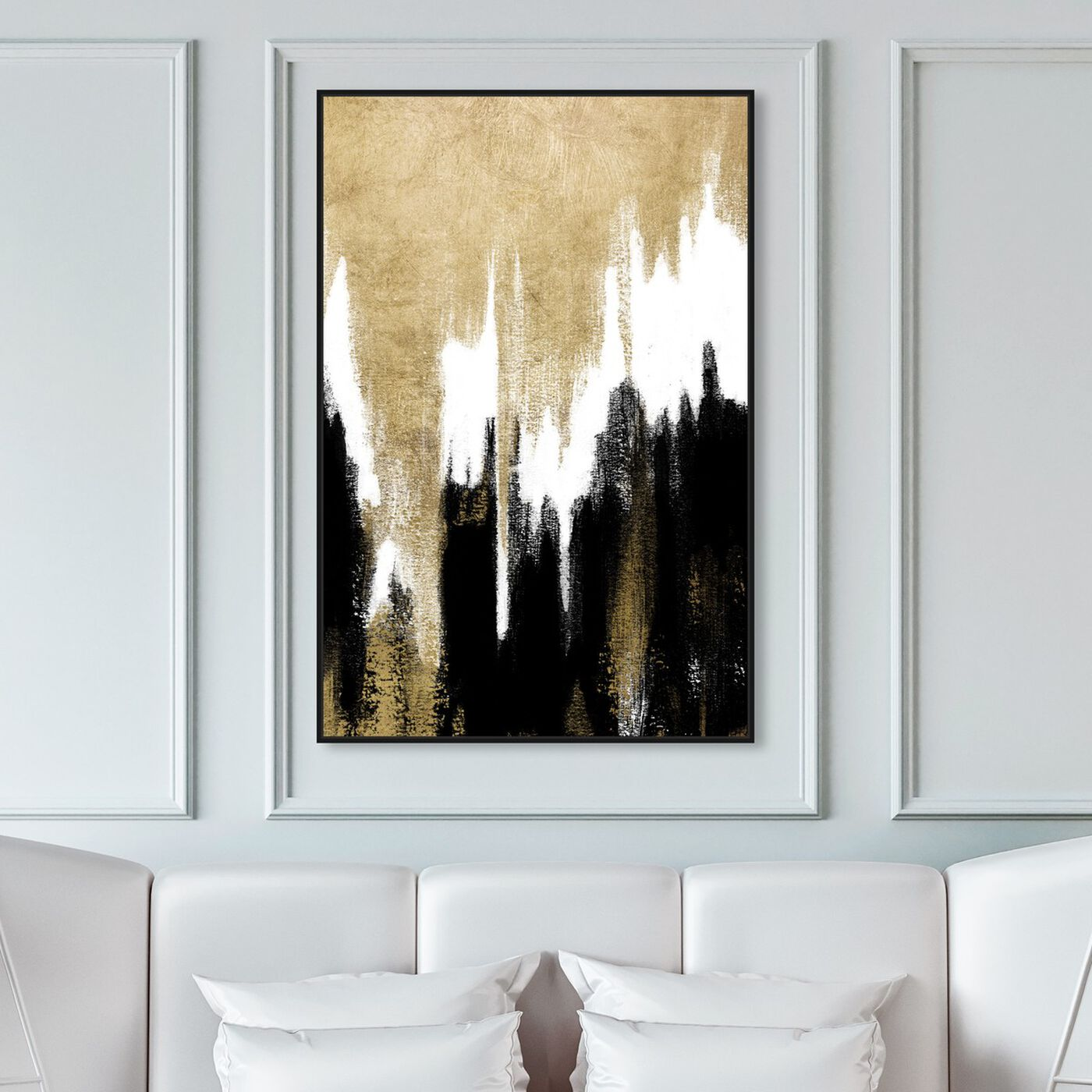 Hanging view of Adore Adore featuring abstract and paint art.