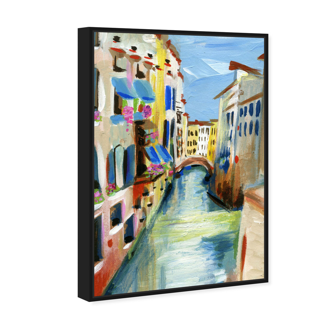 Angled view of Venezia featuring cities and skylines and european cities art.